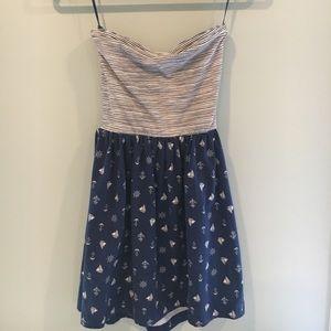 Very cute summer strapless dress